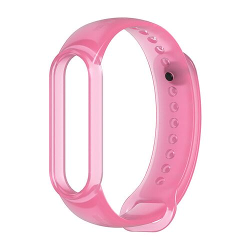 Dây silicone trong suốt Mi band 5
