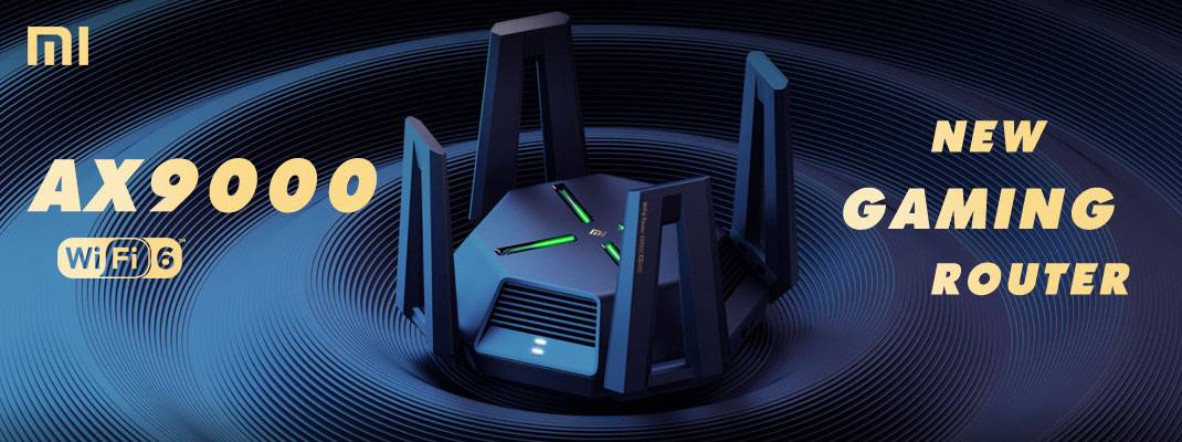 NEW ROUTER GAMING AX9000