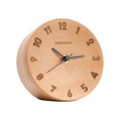 Đồng hồ gỗ để bàn cao cấp bela DESIGN
