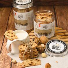 Bánh hương vị hạt tổng hợp BISCOTTI RED BRICK BAKERY