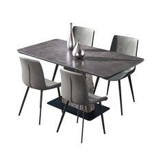 Bộ bàn ghế phòng ăn cao cấp AQUIMIA