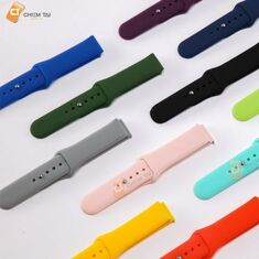Dây đồng hồ silicon 20mm kiểu Apple Watch (thay được nhiều đồng hồ)