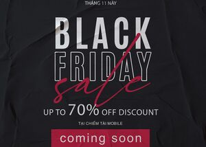 Coming Soon!!! Black Friday Chiếm Tài Mobile 2020