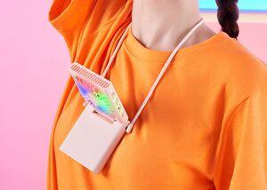 ZMI ra mắt quạt đeo cổ mới với 3 phiên bản màu sắc cùng hiệu ứng đèn RGB sống động