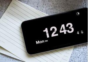 Cài widget đồng hồ lật siêu độc, lạ chỉ có trên iPhone