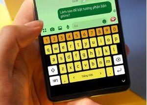 Mẹo đổi màu bàn phím cực hữu ích trên điện thoại Samsung