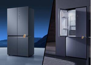 Tủ lạnh 4 cánh 550L cao cấp của Xiaomi được ra mắt với đầy đủ các công nghệ thông minh