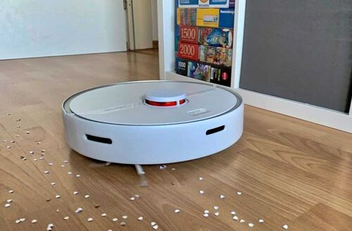 Robot hút bụi lau sàn thông minh Roborock S6 Pure (bản Quốc tế)