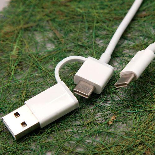 Cáp 2 trong 1 type C to type C (USB-A) ZMI AL311