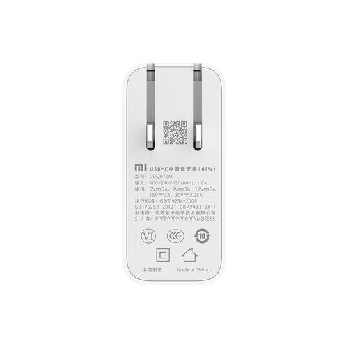 Cốc sạc đa năng Xiaomi chuẩn PD type C 65W