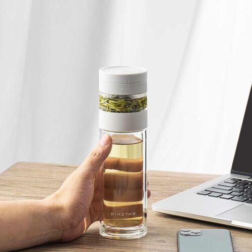 Bình pha trà giữ nhiệt PINZTEA 260ml