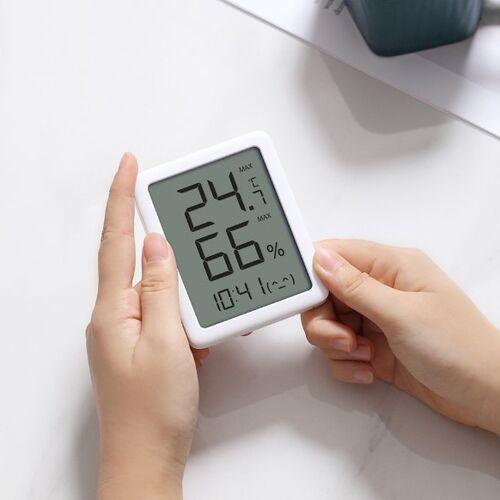 Đồng hồ tích hợp nhiệt ẩm kế Miao Miao MHO-C601