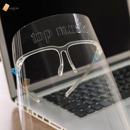 Tấm kính che mặt trong suốt Top Mask