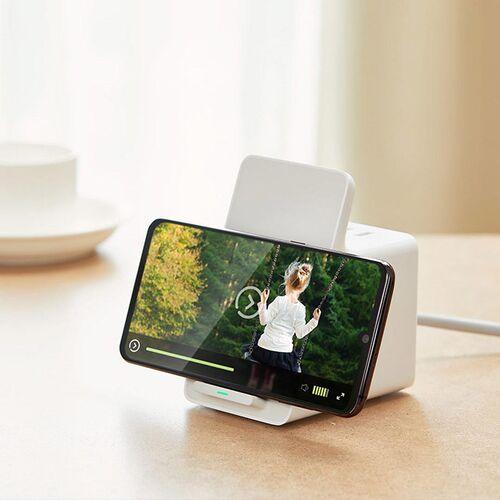 Ổ cắm điện tích hợp sạc không dây Xiaomi XMLSWXC2-10WQM