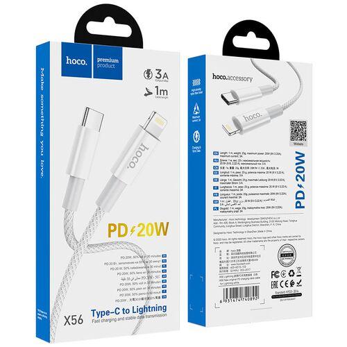Cáp sạc nhanh PD Type-C to Lightning Hoco X56 1m