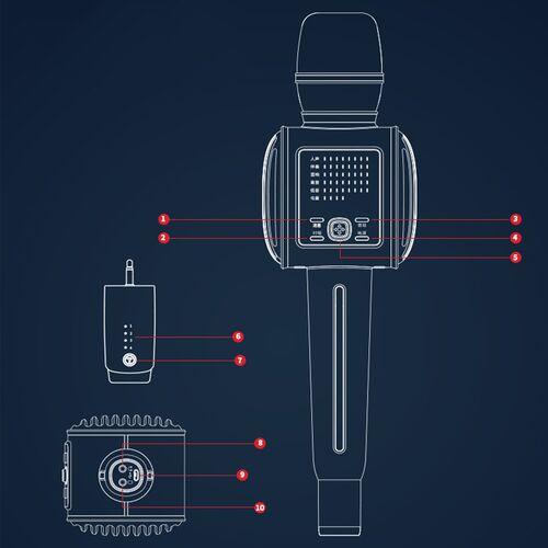 Micro karaoke kèm loa Bluetooth Tosing G6Micro karaoke kèm loa Bluetooth Tosing G6