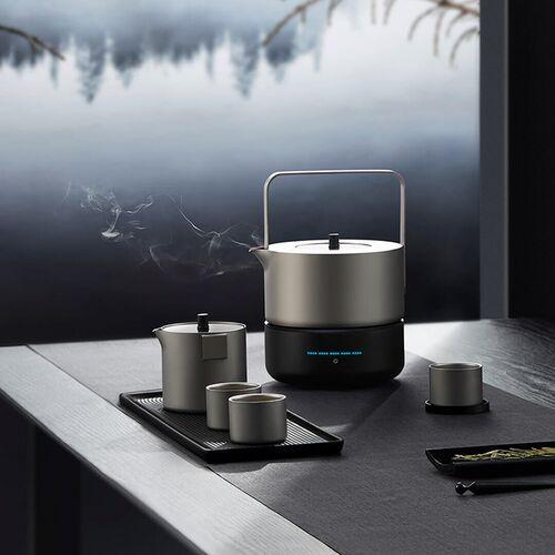 Bộ ấm trà titan nguyên chất INGO