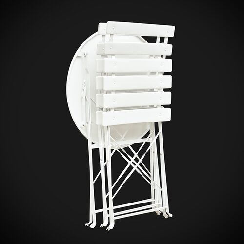 Bộ bàn ghế sắt gấp gọn GOCAMP OBS1008