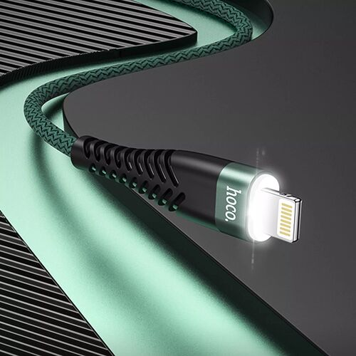 Cáp sạc nhanh dây dù Hoco UD02 Pro 3A (Micro, Lightning, Type-C)