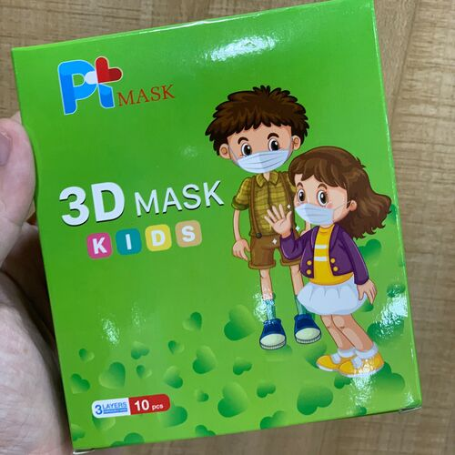 Khẩu trang kháng khuẩn trẻ em 3D MASK KIDS PT