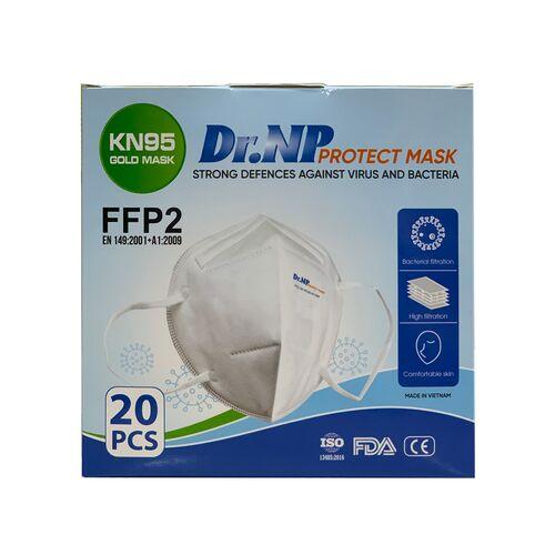 Khẩu trang Dr.NP Protect Mask chuẩn KN95 / FFP2 5 lớp