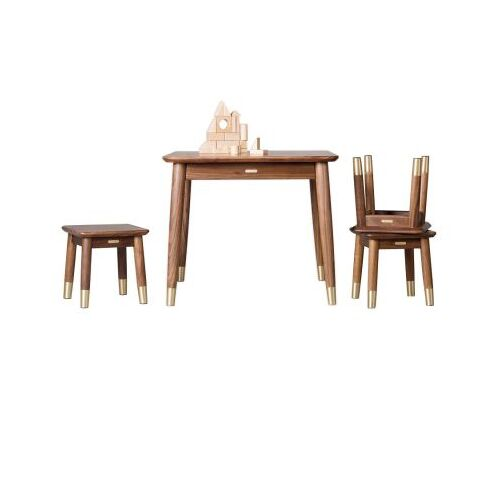 Bộ bàn ghế gỗ cây óc chó cao cấp Xiaomi