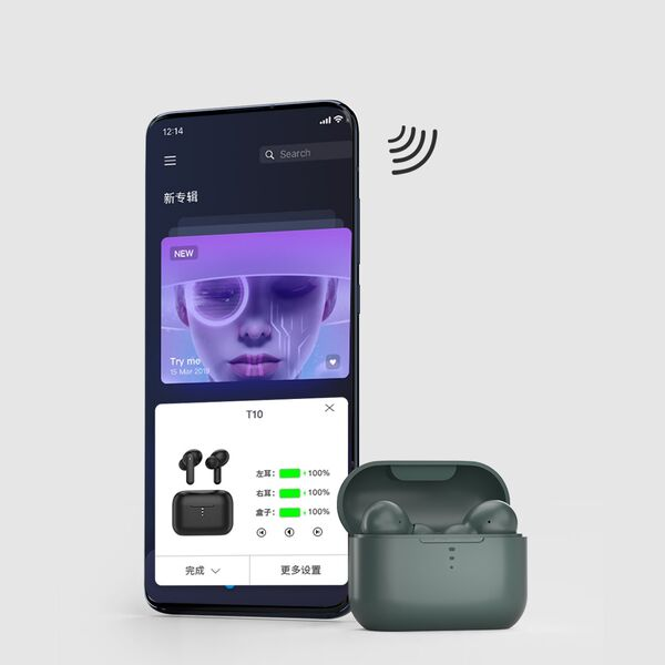 Tai nghe Bluetooth True Wireless QCY T10 4 Micro