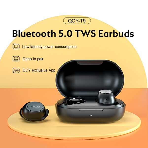 Tai nghe Bluetooth True Wireless QCY T9