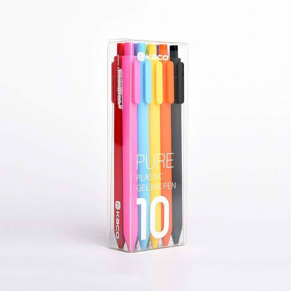 Bộ bút bi 12 màu Kaco Pure