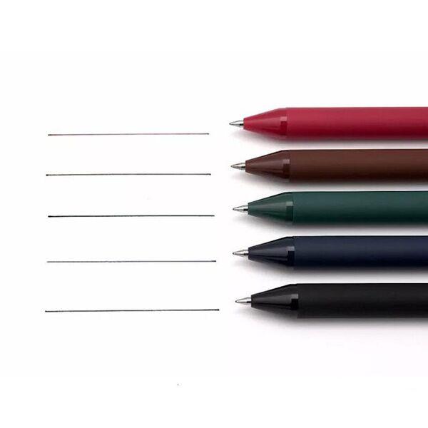 Hộp bút bi gel nước 5 màu KACO Pure K1015