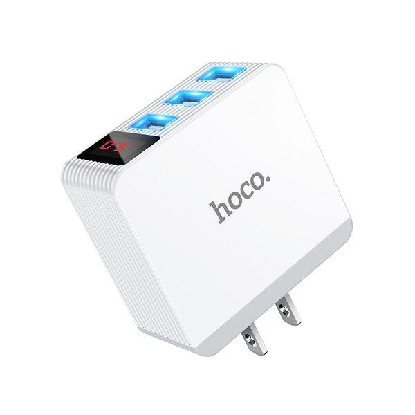 Cốc sạc nhanh 3 USB 3.4A Hoco DC03 Pro Max